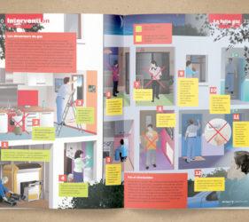 illustration-scientifique-medicale-secourisme-fuite-gaz-magazine-jsp-presse-00